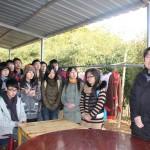 浙江省小动物保护协会常务副会长朱水林先生(右)做发言